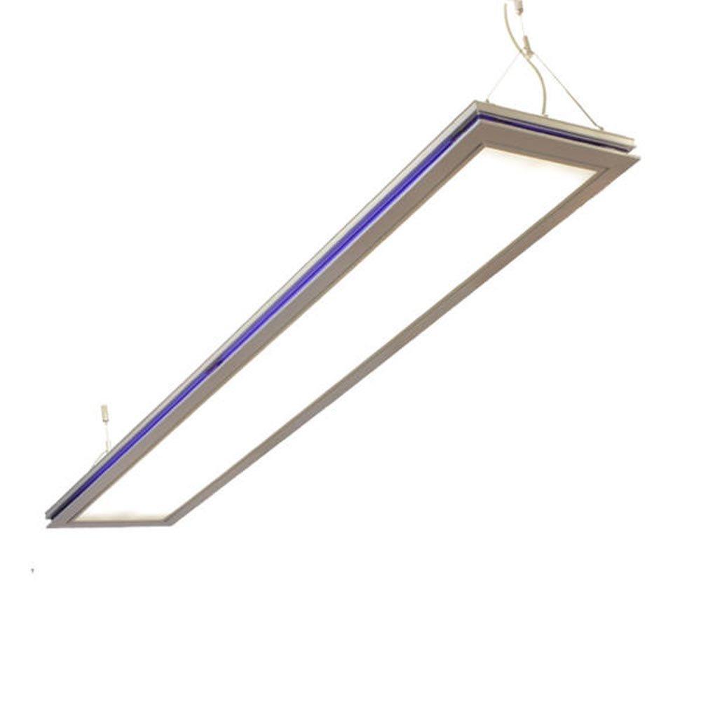 LED Pendelleuchte, Bürolampen, SUSI LED 36W, max 2x26W, neutralweiß (4000K) Deckenleuchte, Hängeleuchte, Büro Designleuchte TEULUX