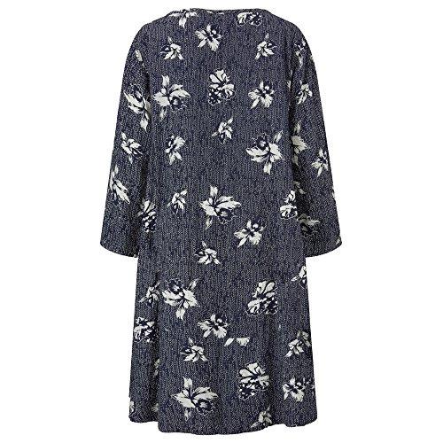 Navy Clothing Kleid Damen Org Org Masai Navy d0qt6xqw