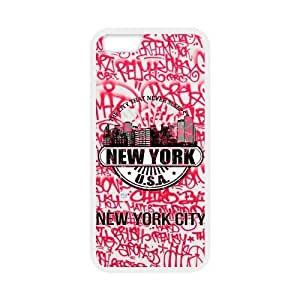 New York City Design Solid Rubber Customized Cover Case for iPhone 6 plus 5.5