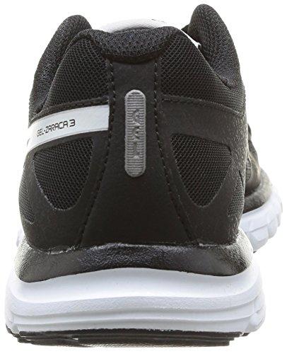 Asics Donna 3 Black 9900 Gel Sportive Snow onyx Negro zaraca Scarpe B64PrxqB