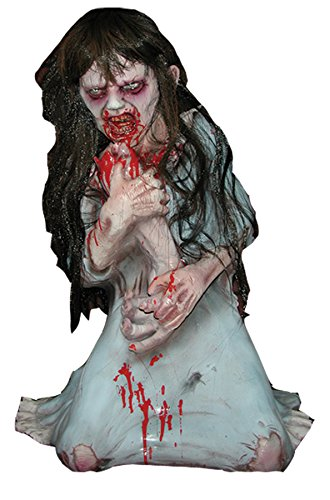BACK FROM THE GRAVE Dead Debbie Non Animated Haunted House Halloween Prop - Zombie Character ()