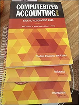 Computerized accounting using sage 50 accounting arens ward henry computerized accounting using sage 50 accounting arens ward henry 9780912503516 amazon books fandeluxe Image collections