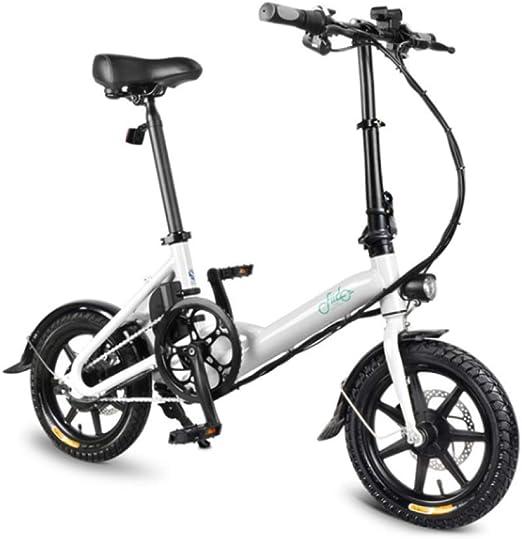 WXJWPZ Bicicleta Eléctrica Plegable 250W Motor 36V 7.8AH Smart ...