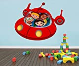 Little Einsteins Spaceship Decal Graphic Wall Sticker Home Decor Art C861, Regular