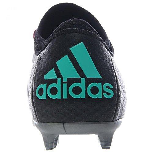 adidas X 15+ Primeknit FG/AG Black/Shock Mint/White