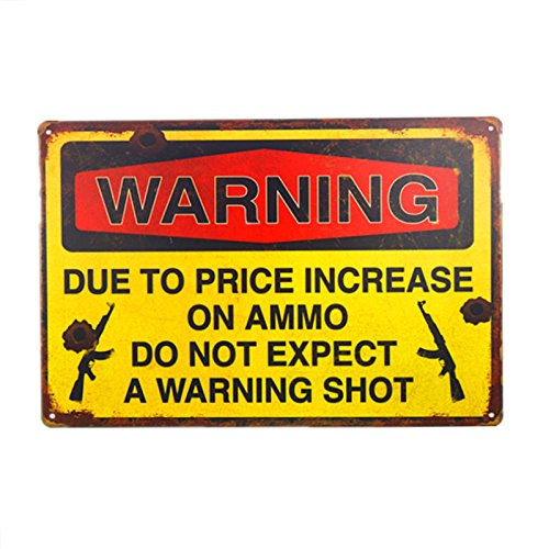 dingleiever- Warning Due to Price Increase on Ammo Do Not Expect a Warning Shot 8