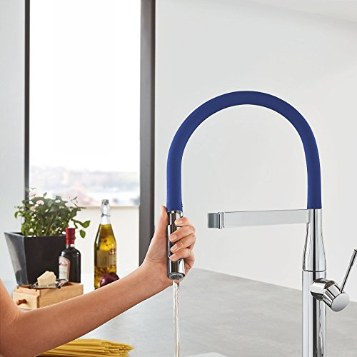 Grohe Essence New Flexo para grifo de cocina Essence Profesional color azul  Ref 124979