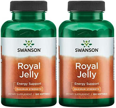 Swanson Royal Jelly - Maximum Strength 333.33 mg 100 Sgels 2 Pack