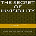 The Secret of Invisibility Audiobook by Lee Smith Narrated by Ray Porter