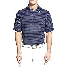 Bobby Jones Luxe Cotton Honour Jacquard Strip Golf Polo 2016