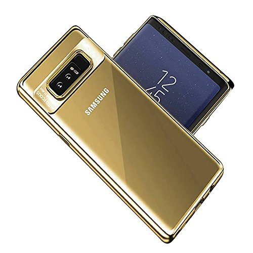 Galaxy Note 8 Case - Galaxy Note 8 Case, Thin Soft TPU Crystal Clear Slim Anti Slip Case Transparent Back Protector Cover for Samsung Galaxy Note 8