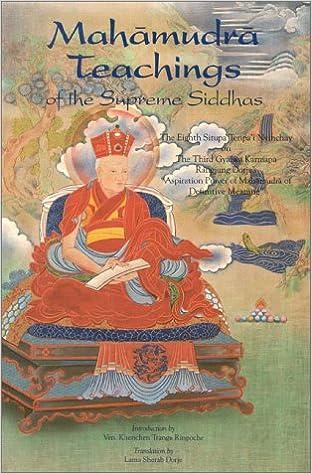 Mahamudra Teachings of the Supreme Siddhas
