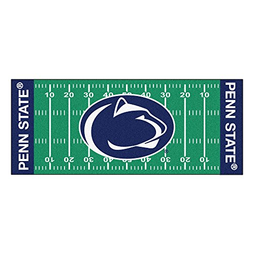 FANMATS NCAA Penn State Nittany Lions Nylon Face Football Field Runner
