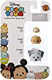 "Disney Tsum Tsum Series 3 Pluto, Lady & Lucky 1"" Minifigure 3-Pack #110, 229 & 145"