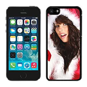 Iphone 5C Case,Christmas Lingerie Lovely Girl Iphone 5C Black Case,Apple 5C Cover Case
