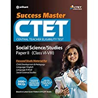 CTET Success Master Science Social/Studies Paper-II for Class VI-VIII (Old Edition)