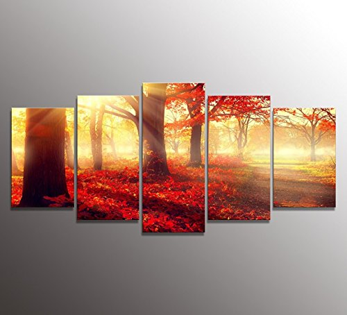 youkuart Panel Wall Art Whitetail Deer In dusk Painting The