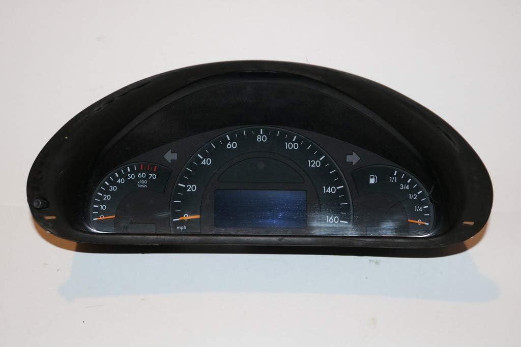 01-02 Mercedes C Class C240 C320 Instrument Cluster Speedometer 80,323#41719