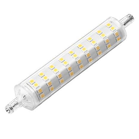 JERUI 2pcs 12W 1000-1200lm R7S Bombillas LED de Mazorca 108 Cuentas LED SMD 2835