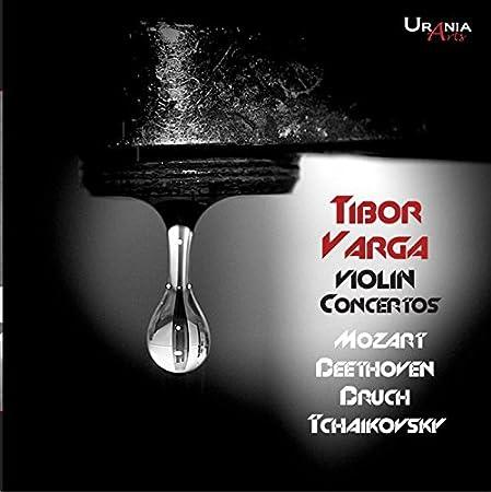 Tibor Varga joue Beethoven, Bruch, Mozart et Tchaikovski : Concertos pour violon. Richter, Susskind, Auberson.