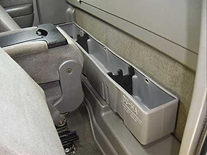 F150 Under Seat Storage >> 2009 2014 Ford F150 Supercab Du Ha Underseat Storage Gun Case Color Black