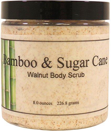 Bamboo And Sugar Cane Walnut Body Scrub, 16 oz