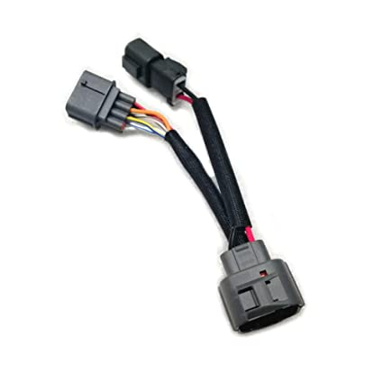 Amazon.com: Unlimited Rider Engine Harness OBD1 to 10 Pin OBD2 ... on civic tail lights, civic engine harness, civic muffler,
