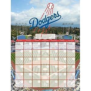 NBL Los Angeles Dodgers Jumbo Dry Erase Sports Calendar