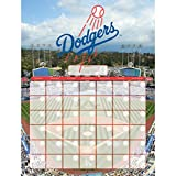 NBL Los Angeles Dodgers Jumbo Dry Erase Sports Calendar