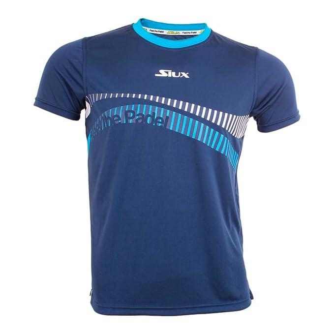 Siux Camiseta Feel Padel NIÑO Azul Marino: Amazon.es: Deportes y ...