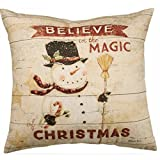 Primitives by Kathy Holiday The Magic of Christmas Throw Pillow