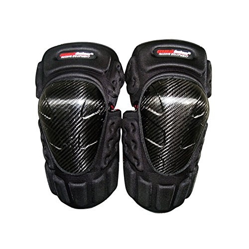 Carbon Carbon Fiber Shin Guard (Carbon fiber Knee/Shin Guard Set for Racing Motocross Motocycle)