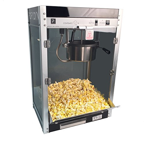- Paragon Contempo Pop 8 Ounce Popcorn Machine for Professional Concessionaires Requiring Commercial Quality High Output Popcorn Equipment