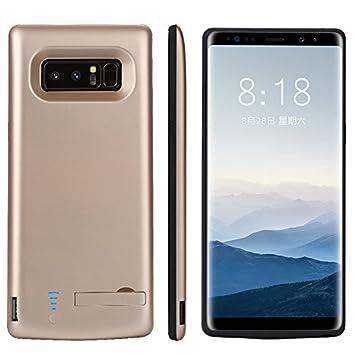 Funda Batería Samsung Galaxy Note 8 Battery Case 6500mAh Power Bank Carcasa Cargador Battery Recargable Externa Funda Ultra Fin Power Bank Battery ...