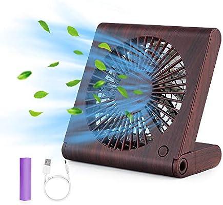 GeeRic Ventilador de Mesa, Mini Ventilador portátil USB ...