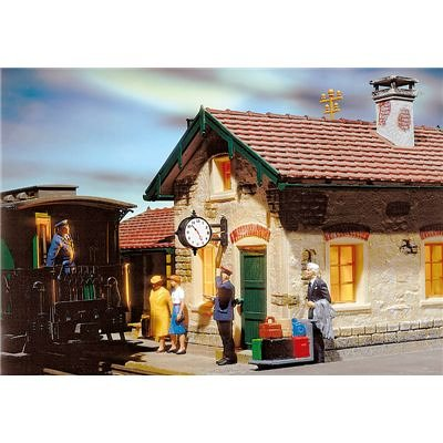 Pola 330973 Station Clock Lighted G Scale Building for sale  Delivered anywhere in USA