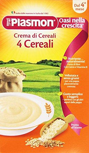 Plasmon -Cereal cream, 4 Cereals 230g