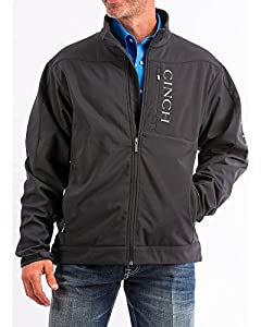 4. Cinch Men's Concealed Carry Solid Bonded Jacket (Large)