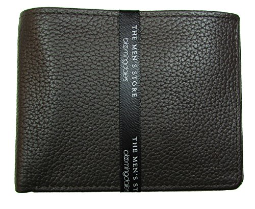 The Men's Store at Bloomingdale's Brown Leather Bifold Wallet (One Size, - Men Bloomingdale