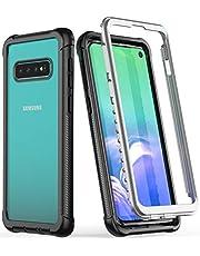 Samsung Galaxy S10+ Plus Case,Rugged Heavy Duty Bumper Armor