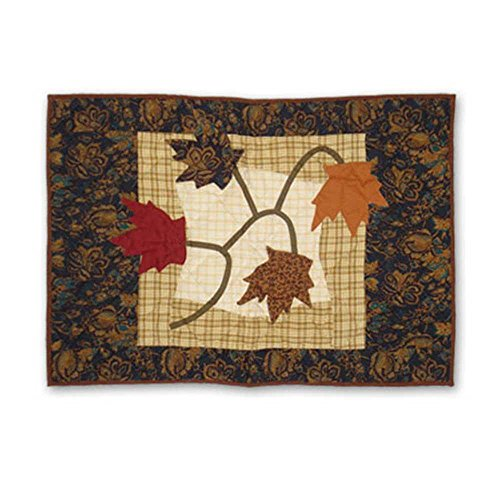 Patch Magic Autumn Leaves King Sham, 31-Inch by 21-Inch
