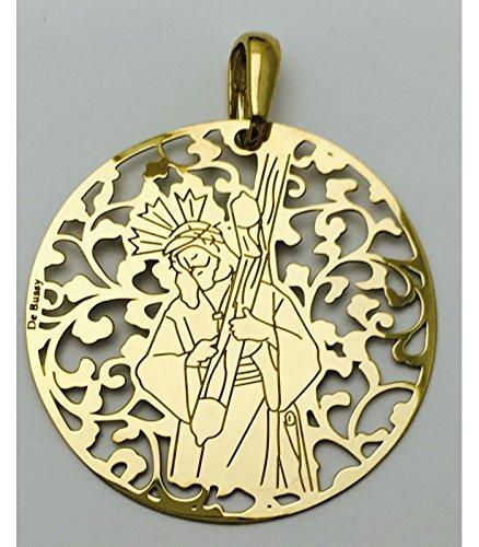 Médaille Argent de Loi Christ du grand pouvoir