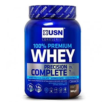 amazon com usn 100 whey protein chocolate 908g beauty