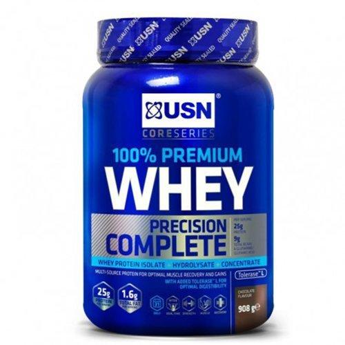 - USN 100% Whey Protein - Chocolate (908g)