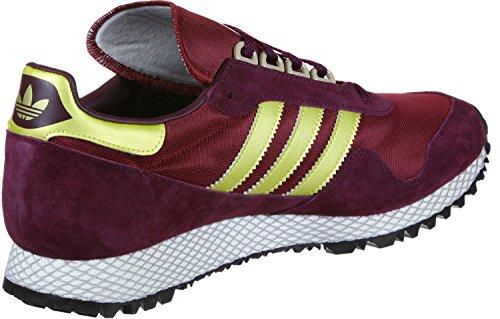 adidas New York Schuhe Weinrot