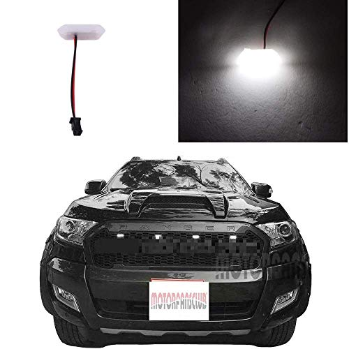 Motorfansclub Black Led Grille Grill Light For Ford Ranger T7 Pickup Raptor Style 2015 2017