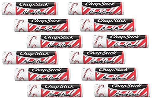 (ChapStick Candy Cane (12 Sticks) - NEW DESIGN)