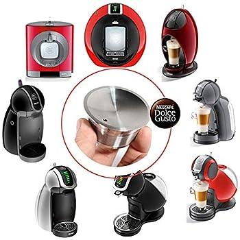 Amazon.com: Volwco - Cápsulas de café reutilizables de acero ...