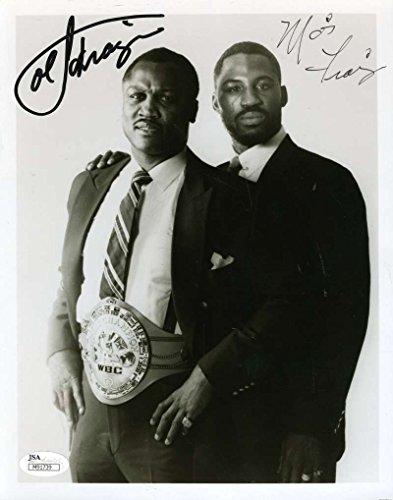 Joe Frazier Autograph (JOE AND MARVIS FRAZIER SIGNED JSA 8X10 PHOTO AUTHENTIC AUTOGRAPH)
