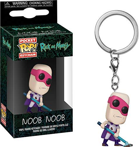 Funko POP! Keychain: Rick and Morty - Noob - Noob